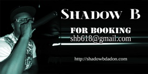 Click On the Photo to Check out a Catalog of Shadow B's music.