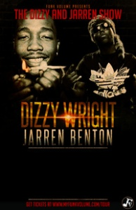 @Wastedpotential presents @DizzyWright / @JarrenBenton In Concert September 11th at the Ready Room in St.Louis